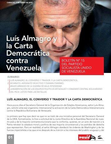 Luís Almagro y la Carta Democrática contra Venezuela