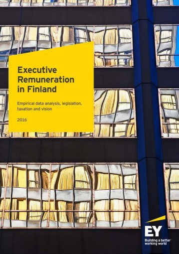 Executive Remuneration in Finland
