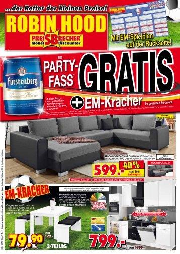 EM-Kracher im gesamten Sortiment! 1 Party-Fass gratis!
