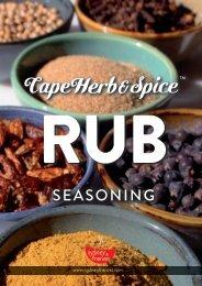 Cape Herb & Spice - Rub Rezeptideen