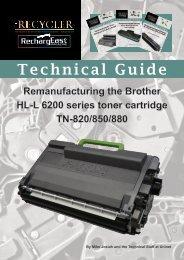 TG - Brother  HL-L 6200 series toner cartridge TN-820:850:880