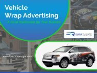 Vehicle Graphics - An Ultimate Investment for Your Business