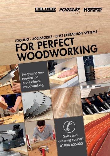 Catalog Felder Gruppe 2016 - Scule, accesorii si dispozitive pentru prelucrarea lemnului