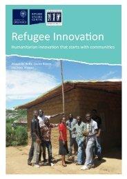 Refugee Innovation