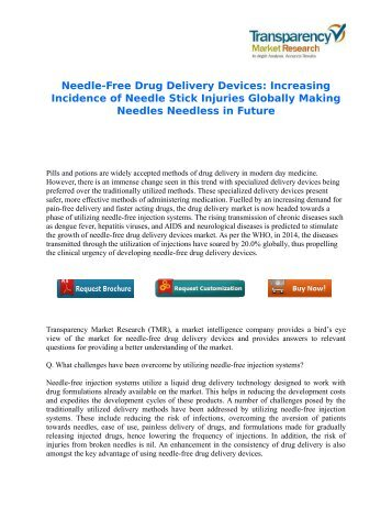 Needle-Free Drug Delivery Devices