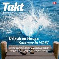Takt NRW: Urlaub zu Hause - Sommer in NRW