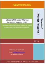 Global LM Sensor Market Research Report 2016