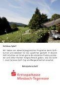 1. José Carreras Golf-Cup - DER MARGARETHENHOF Golf & Hotel am Tegernsee - Seite 6