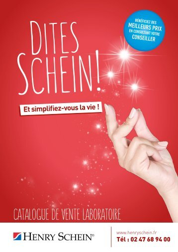 Catalogue de vente laboratoire