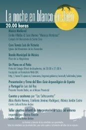 La noche en blanco en Jaén