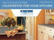 How to Choose the Right Countertop for Your Kitchen