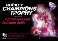 Champions Trophy Official Spectator Guide