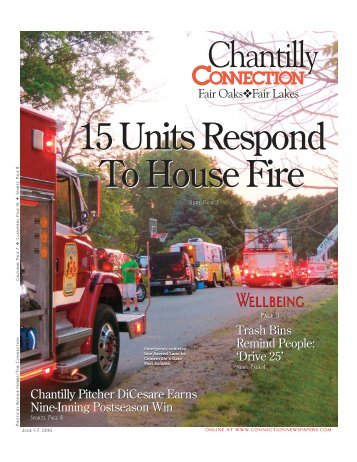 Chantilly 15 Units Respond To House Fire