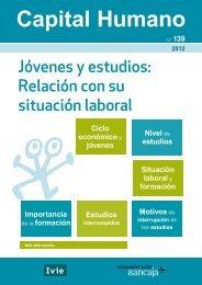 Jóvenes y estudios: Relación con su situación laboral