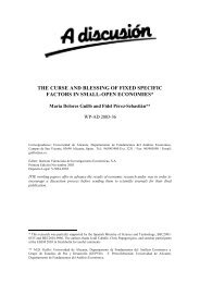 the curse and blessing of fixed specific factors in small-open ... - Ivie