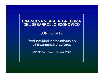 Una nueva visita a la teoría del desarrollo económico - Ivie