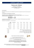 Versand und Logistikpreise 2016 - Seite 7