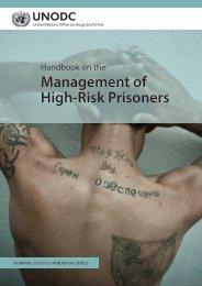 Management of High-Risk Prisoners