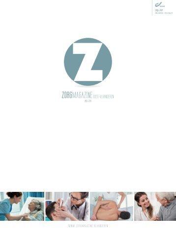 Zorgmagazine Oost-Vlaanderen 2016-2017
