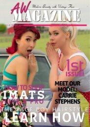 AW Magazine September Edition 2015