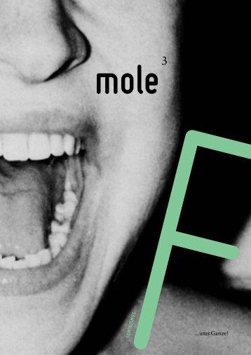 mole magazin 3 –FEMINISMUS