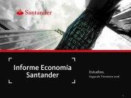 Informe Economía Santander