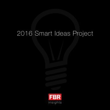 FBR-Smart-Ideas-Project-2016