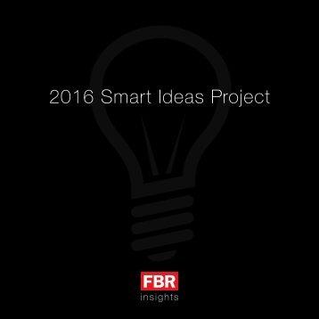 FBR-Smart-Ideas-Project-2016