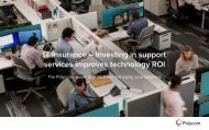 IT Insurance – Investing in support services improves technology ROI