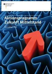 Aktionsprogramm Zukunft Mittelstand