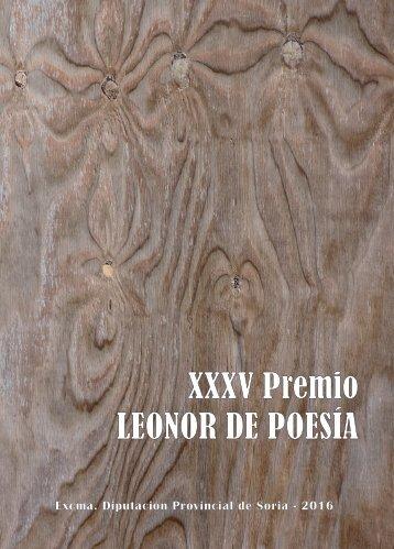 XXXV Premio LEONOR DE POESÍA