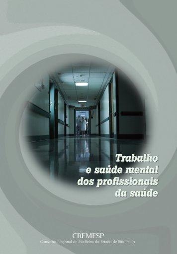 Trabalho e saúde mental dos profissionais da saúde
