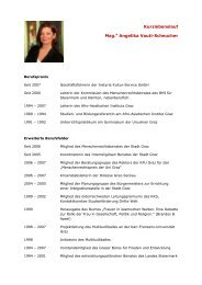 Kurzlebenslauf Mag.a Angelika Vauti-Scheucher