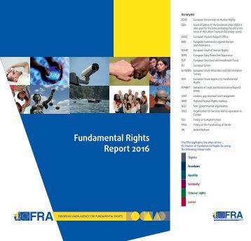Fundamental Rights Report 2016