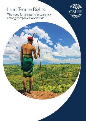 Land Tenure Rights