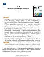 C 4 Developpez des applications windows avec visual studio 2010 - Page 2