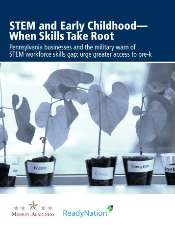 STEM and Early Childhood— When Skills Take Root