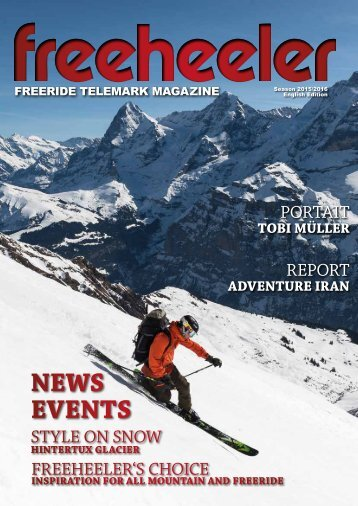 Freeheeler Telemark Magazin 2015/16 english