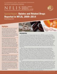 Opiates and Related Drugs Reported in NFLIS 2009–2014