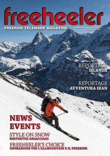 Freeheeler Telemark Magazin 2015/16 italiano