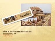 A Trip to the Royal Land Of Rajasthan - HolidayKeys.co.uk