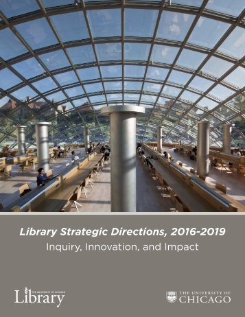 Library Strategic Directions 2016-2019