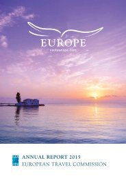 ANNUAL REPORT 2015 EUROPEAN TRAVEL COMMISSION