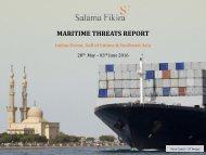 MARITIME THREATS REPORT