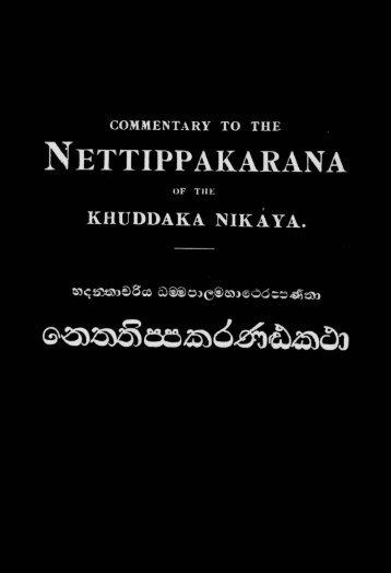 43-nettippakaranatthakatha