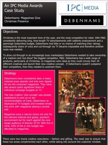 debenhams brief