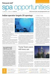 Spa Opportunities issue 131 - Leisure Opportunities