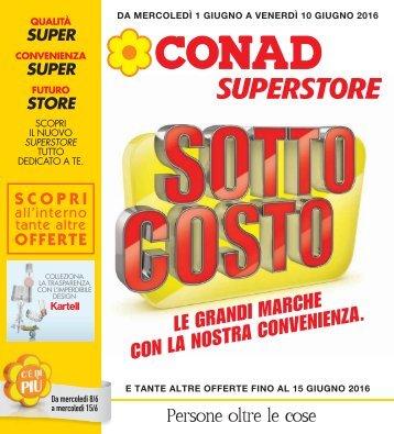 Conad Sassari 01-10 Giugno 2016