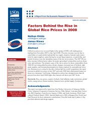 Childs et al. - 2009 - Factors behind the rise in global rice prices in 2