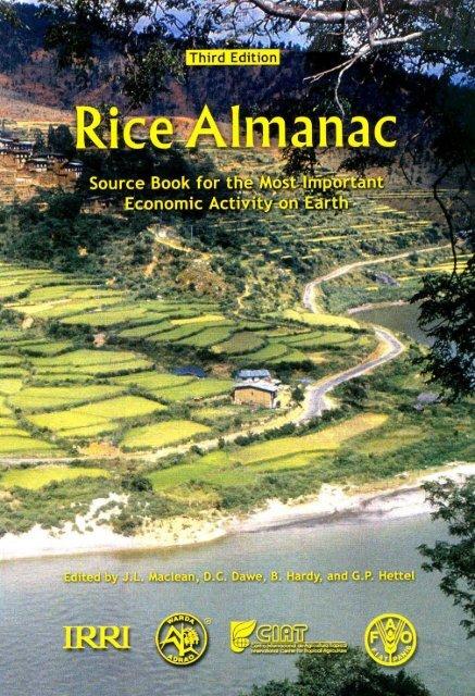 Maclean et al. - 2002 - Rice almanac source book for the most important e